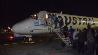 22-21 Heel laat op de avond wordt er toch nog een vlucht naar Iguazu voor ons geregeld.