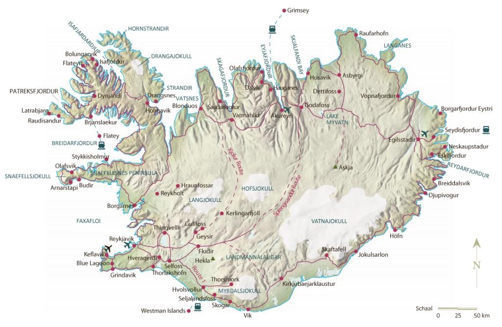 Kaart-Ijsland
